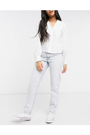 Cotton:On High rise mom jean in light wash