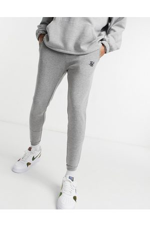 SikSilk Jacquard trousers in check