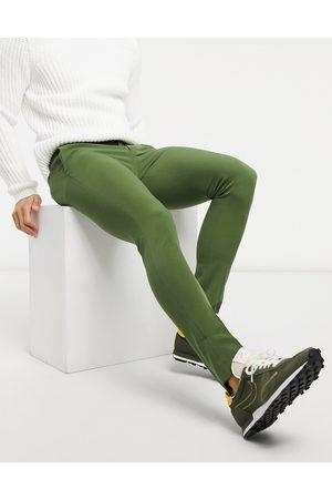 ASOS DESIGN Extreme super skinny smart trouser in khaki