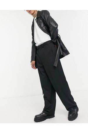 ASOS Wide leg smart trousers in