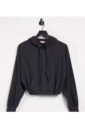 Catch Exclusive oversized hoodie in charcoal