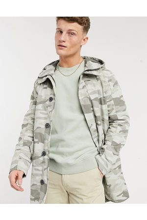 Selected Sustainable iconics parka in camo