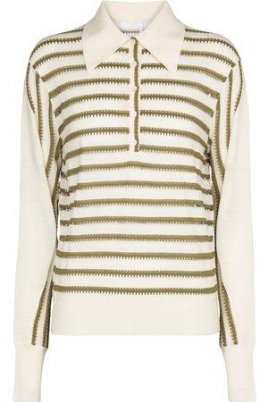 Chloé Polo collar wool-blend sweater