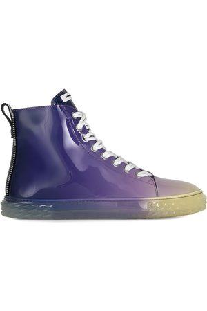 Giuseppe Zanotti Gradient high-shine sneakers