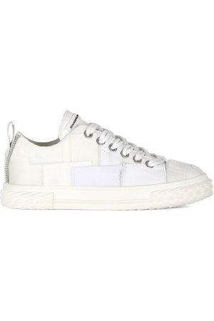 Giuseppe Zanotti Patchwork design sneakers