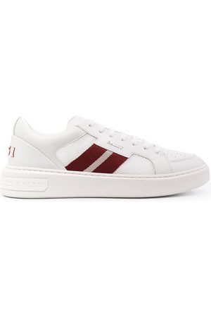 Bally Striped tape low-top sneakers