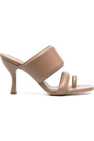 GIA Open-toe mule sandals