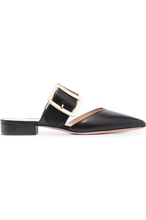 Bally Jemina buckled leather mules