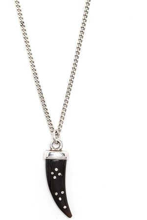 Isabel Marant Aimable horn pendant necklace