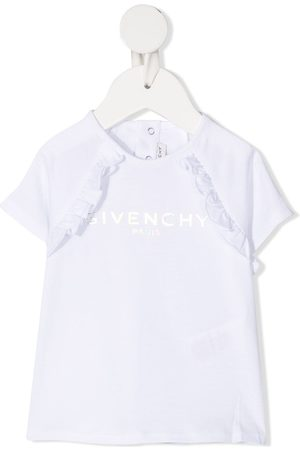 Givenchy Ruffle-detail cotton T-shirt
