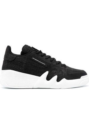 Giuseppe Zanotti Talon crocodile-effect sneakers