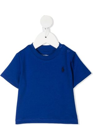 Ralph Lauren Kids Signature logo embroidered t-shirt