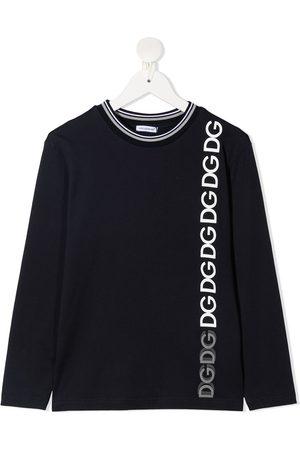 Dolce & Gabbana Logo-print long-sleeved T-shirt