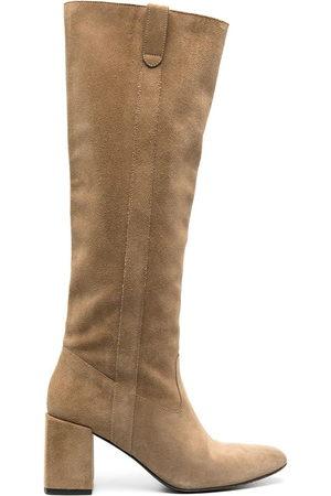 Ami Knee length mid-heel boots