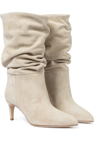 PARIS TEXAS Slouchy suede boots