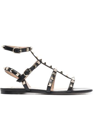 VALENTINO GARAVANI Rockstud ankle strap sandals