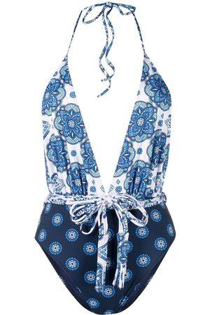MC2 SAINT BARTH Women Swimsuits - Gipsy style one-piece swimsuit