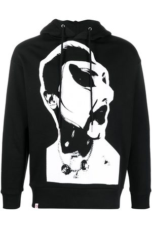 Charles Jeffrey Loverboy Graphic-print organic cotton hoodie