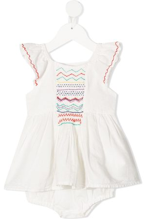 Stella McCartney Baby Casual Dresses - Smock-detail dress
