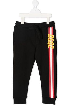 Dsquared2 Boys Trousers - Logo stripe track pants