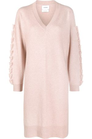 Barrie Women Casual Dresses - Embroidered cashmere dress