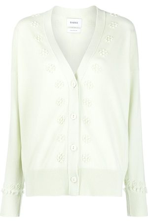 Barrie Women Cardigans - Embroidered cashmere cardigan