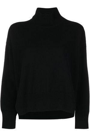 Barrie Women Jumpers - Roll neck cashmere jumper
