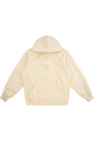 Supreme Men Sweatshirts - Cross box logo hoodie