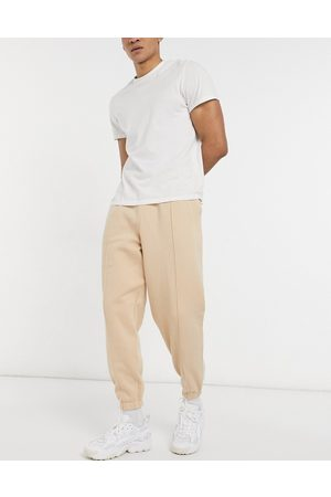 ASOS Oversized joggers with pin tuck in