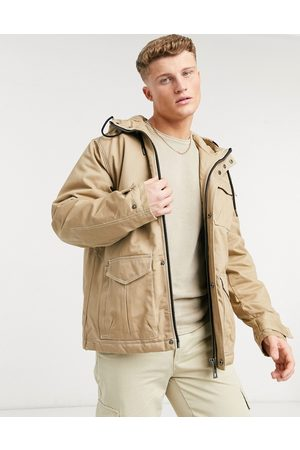 River Island Men Parkas - Padded hooded parka in
