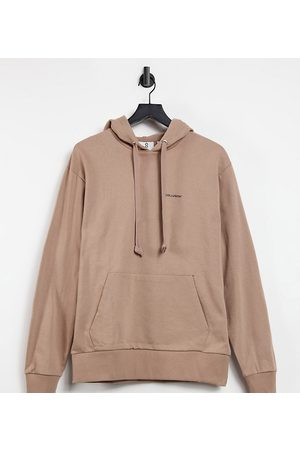 COLLUSION Unisex oversized hoodie with logo print in
