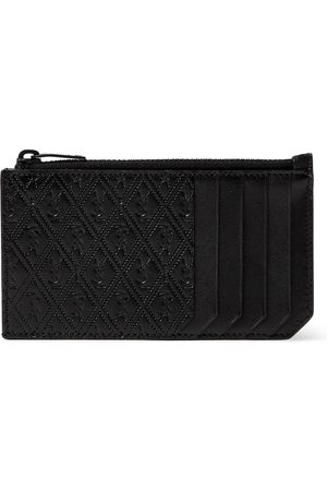 Saint Laurent Monogram-Debossed Leather Cardholder