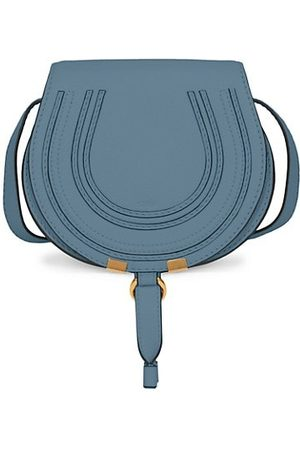Chloé Small Marcie Leather Saddle Bag