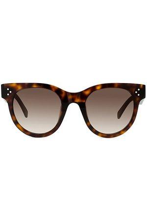 Céline 50MM Plastic Rectangular Sunglasses