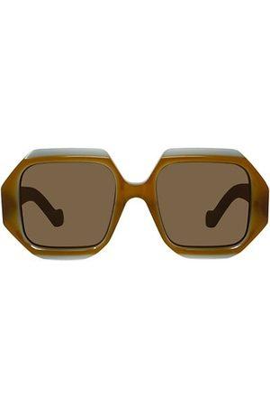 Loewe Sunglasses - 54MM Hexagon Sunglasses
