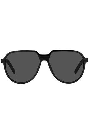 Dior Tag SU 57MM Plastic Aviator Sunglasses