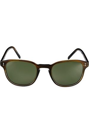 Oliver Peoples Fairmont 49MM Round Sunglasses