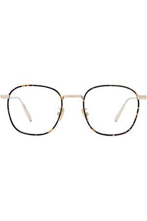 Dior BlacksuitO RF 50MM Metal Square Optical Glasses