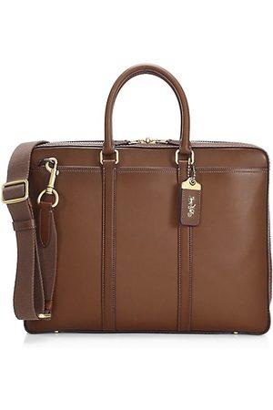 Coach Men Briefcases - New Metropolitan Slim Brief Leather Bag