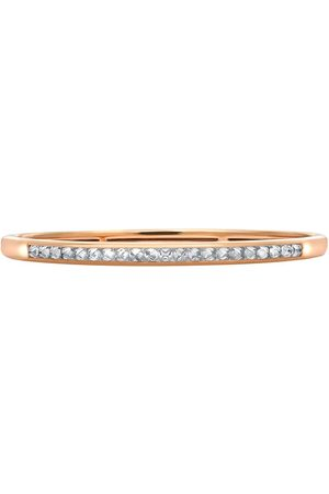 Pragnell 18kt rose gold RockChic diamond-embellished bangle