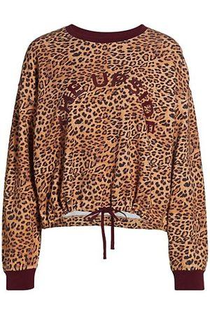 The Upside Jane Leopard Crewneck Sweatshirt