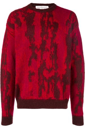 Golden Goose Two tone knitted jumper