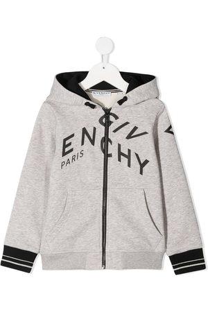 Givenchy Logo-print zip-up hoodie