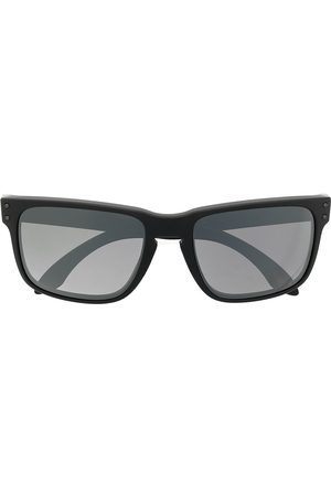 Oakley Square-frame logo-embellished sunglasses