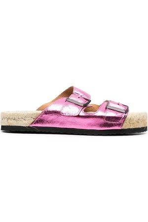MANEBI Women Sandals - Hollywood double strap sandals