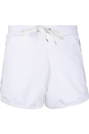 Moschino Women Shorts - Logo-print drawstring shorts