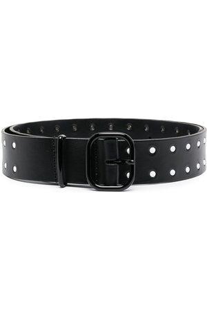 Serafini Women Belts - Cut-out leather belt