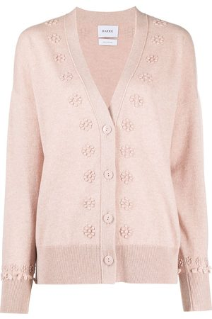 Barrie Embroidered cashmere cardigan