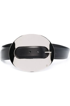 Paco rabanne XL Eight leather belt