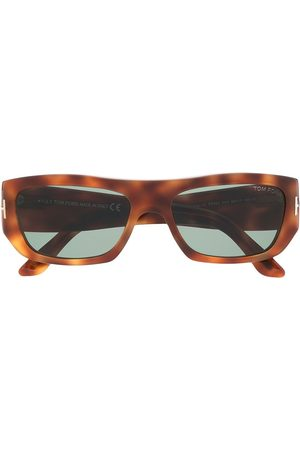 Tom Ford Tortoiseshell square sunglasses
